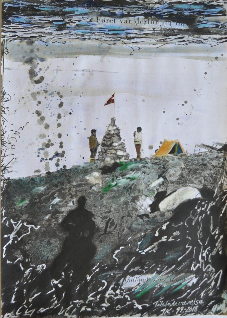 Jens Kampmann er en af kunstnerne i Galleri Blæst
