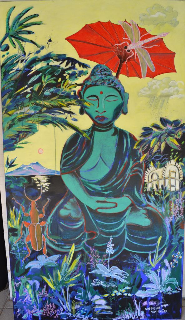 Buddha af Jens Kampmann vises i Galleri Blæst i Nordjylland