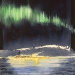 Aurora Borealis af Birgitta Steen vises i Galleri Blæst i Nordjylland