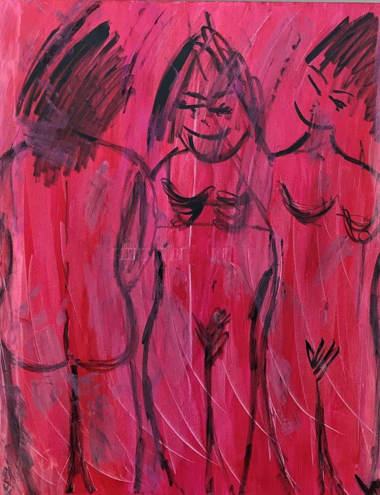 Anne Vejen Hindkjær er en af de kunstnere der udstiller i Galleri Blæst