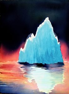 Isbjerg af Birgitta Steen