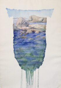 Naturens skjold af Birgitta Steen vises i Galleri Blæst i Nordjylland