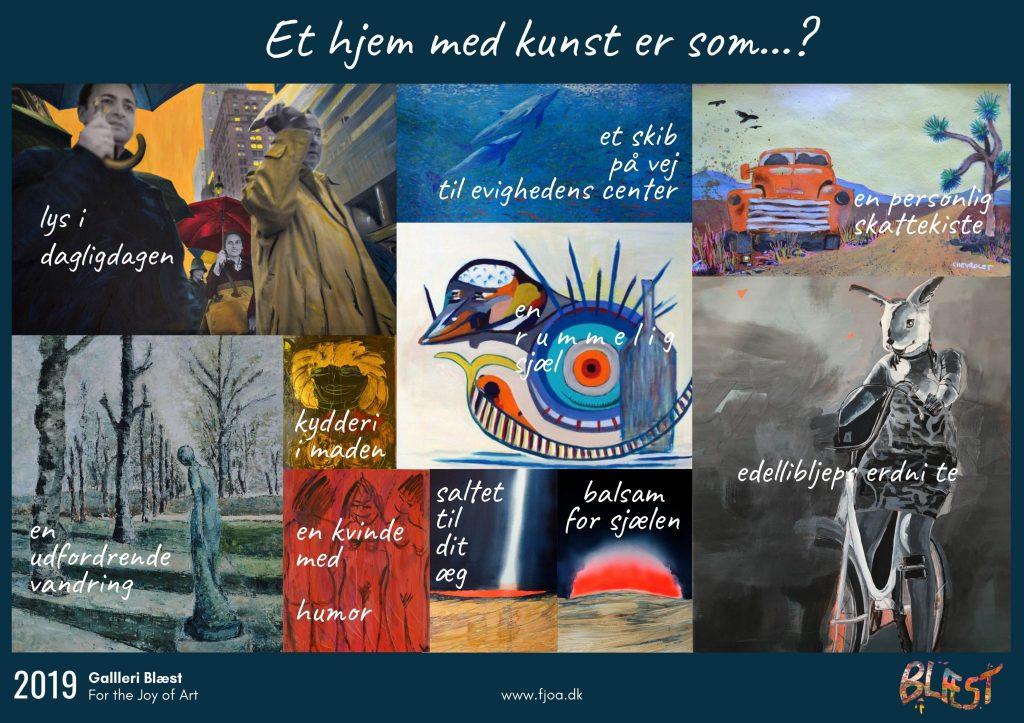 Shop Kunstplakat fra Galleri Blæst i Nordjylland