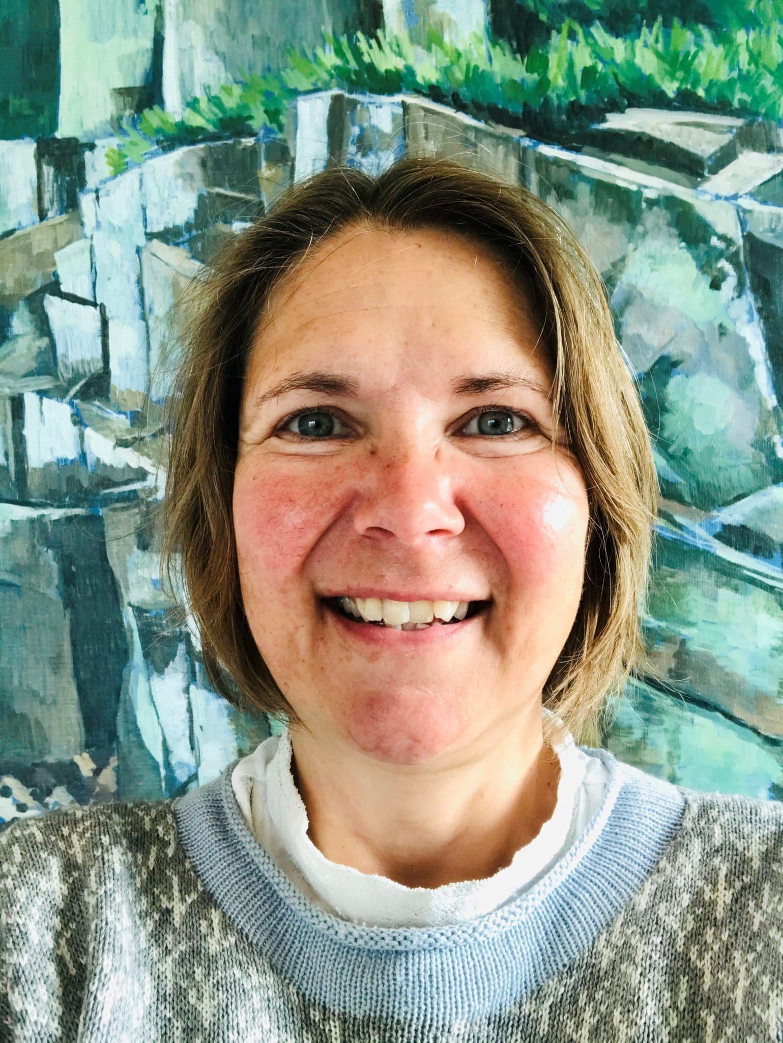 Gallerist Christine Stampe Frøsig